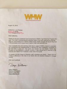 Thanks letter